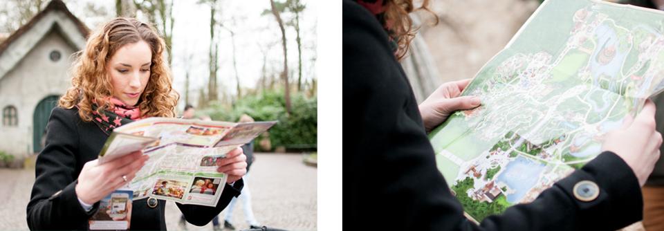 Fotoshoot in de Efteling