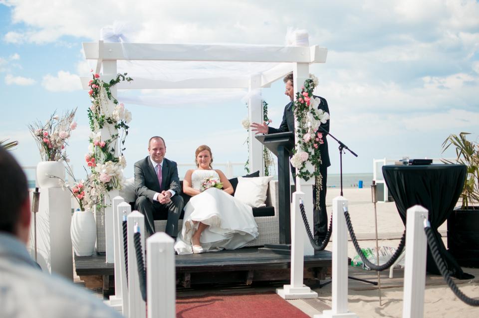 Bruiloft op het strand -5606