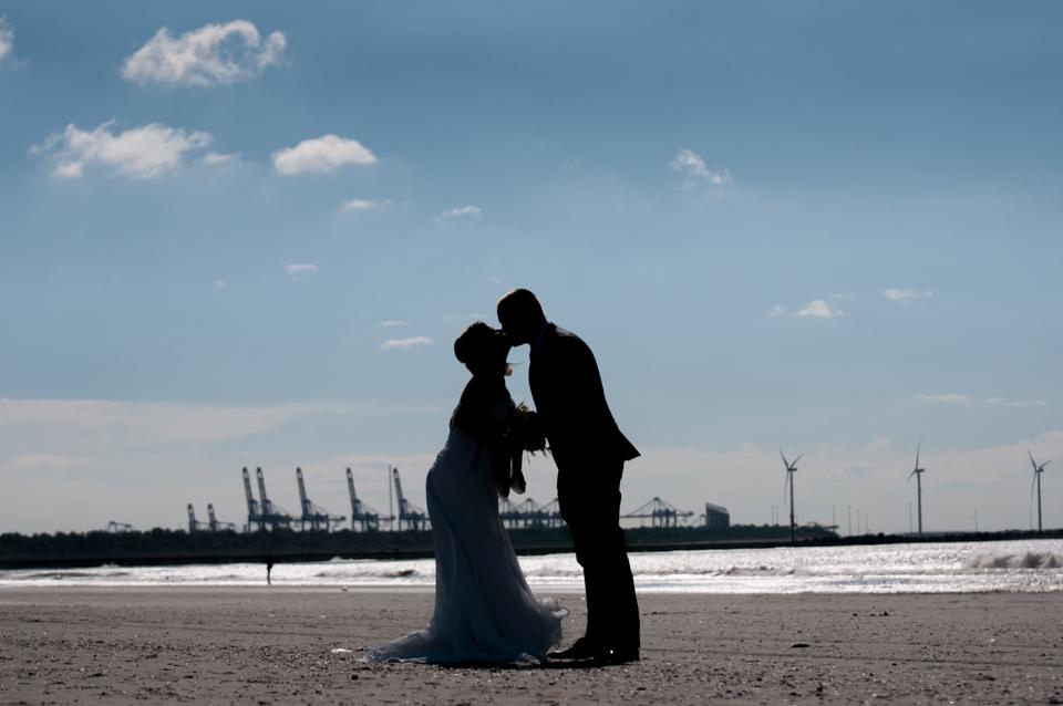 Bruiloft op het strand -6055