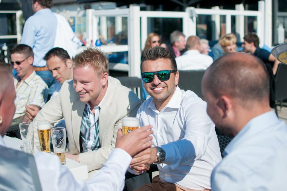 Bruiloft op het strand -6164