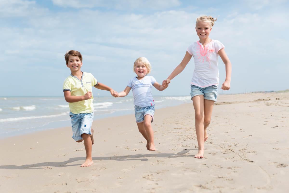 Spontane fotoshoot op het strand -
