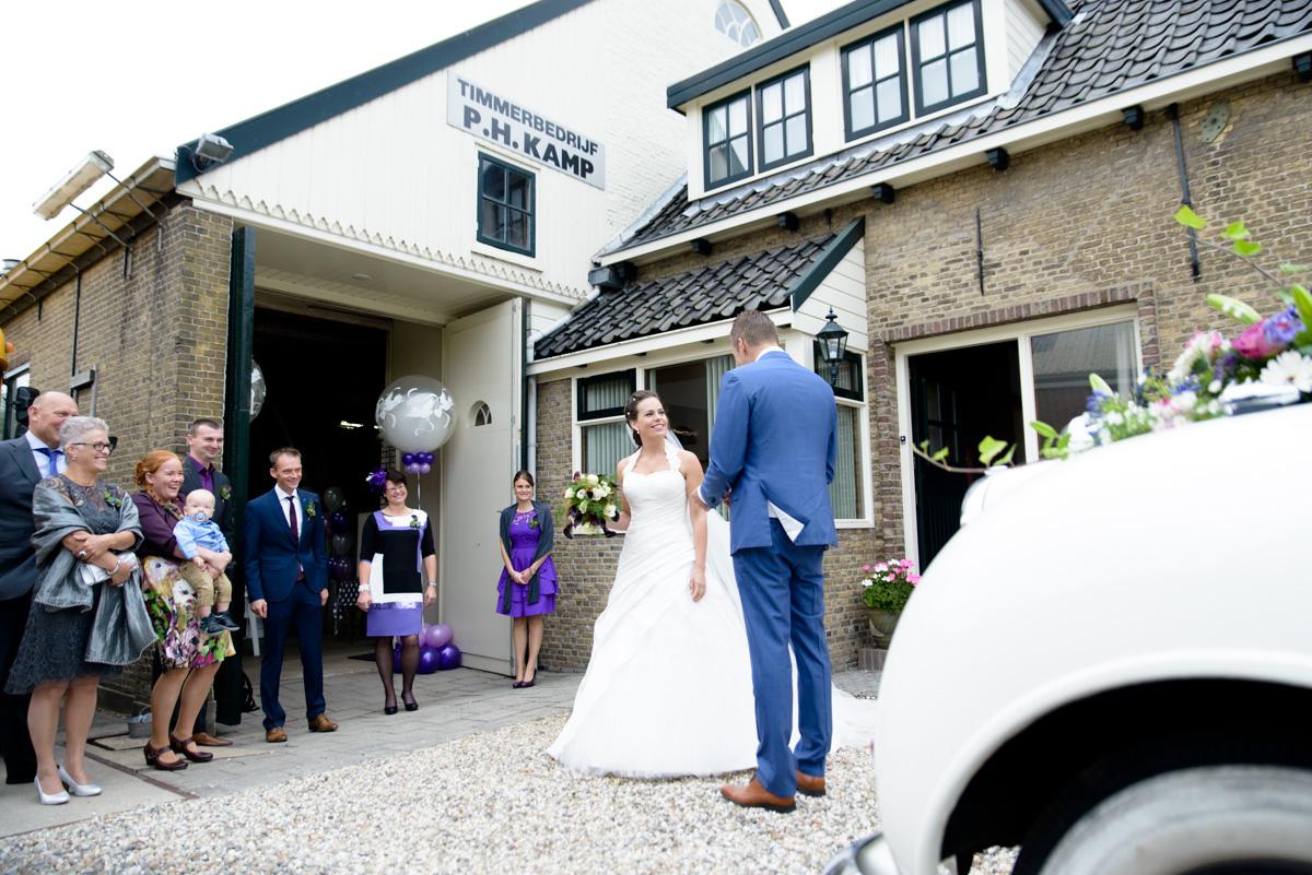 Bruidsfotografie Museum Heinenoord en Koningshoeve Klaaswaal