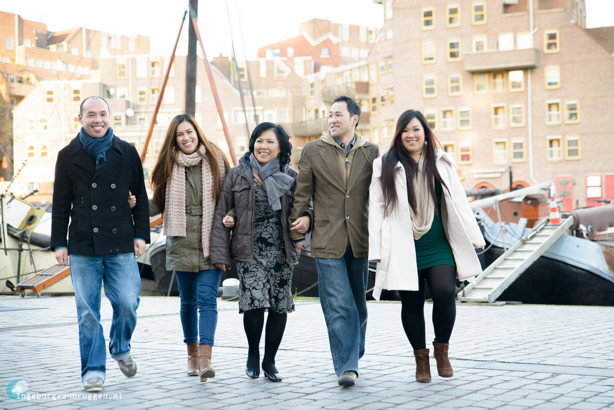 Familie Fotoshoot Oude Haven Rotterdam