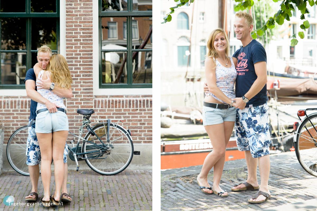Romantische Familie fotoshoot Delfshaven