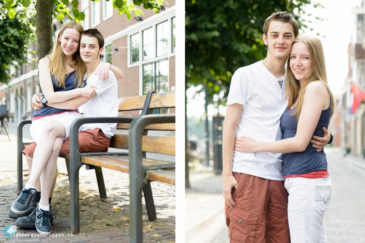 Ongedwongen Familie fotoshoot Delfshaven