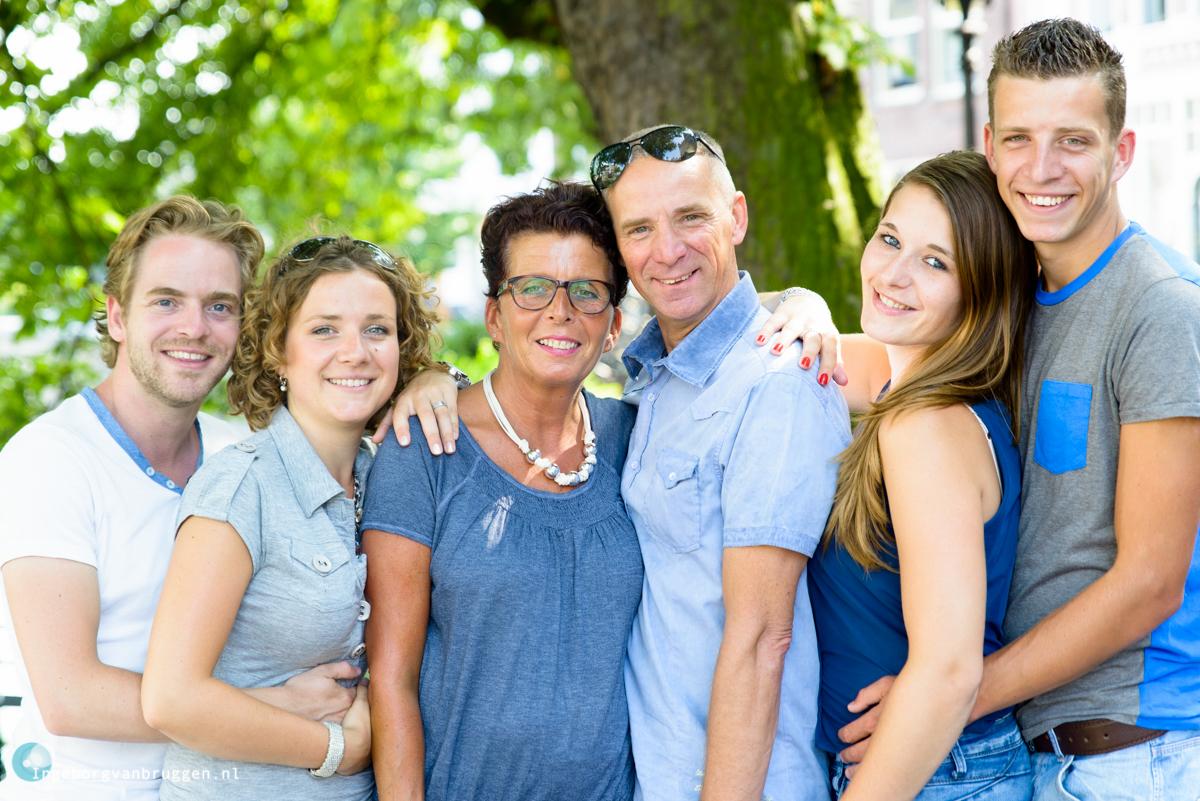 Gezellige Familie fotoshoot Delfshaven