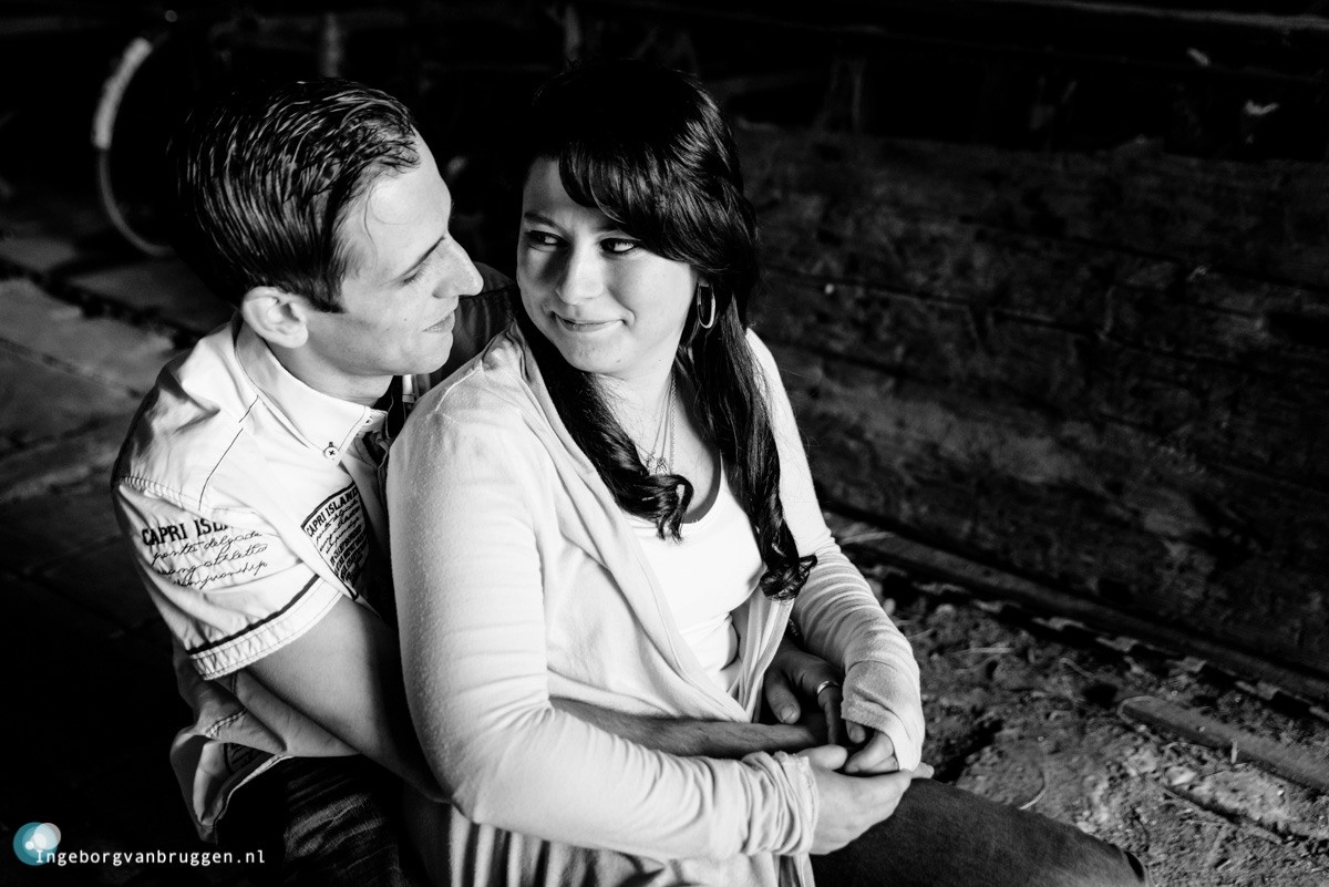 Stoere loveshoot