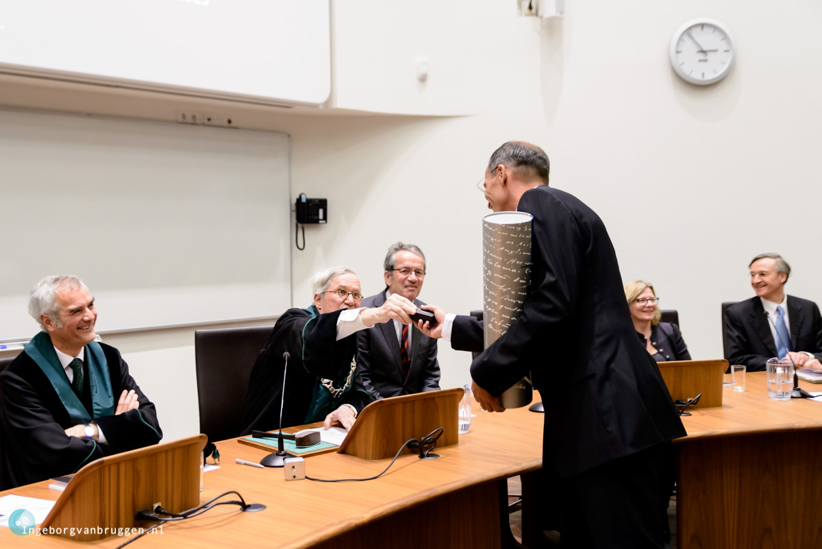 Fotografie Promotie Erasmus Universiteit