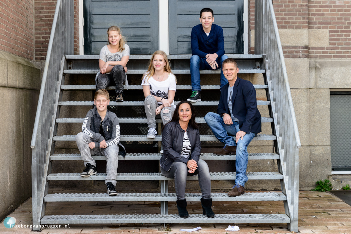Fotoshoot met pubers Rotterdam Katendrecht