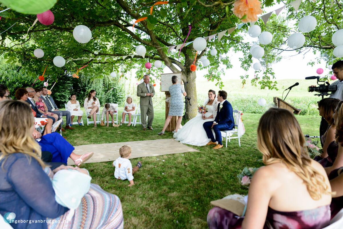 Bruidsfotograaf DIY Bruiloft