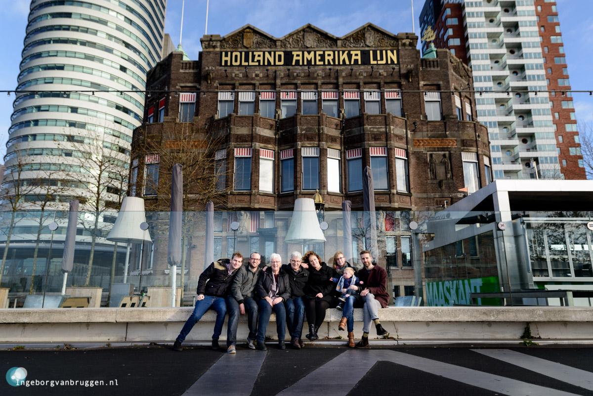 Familieshoot Erasmusbrug en Hotel New York