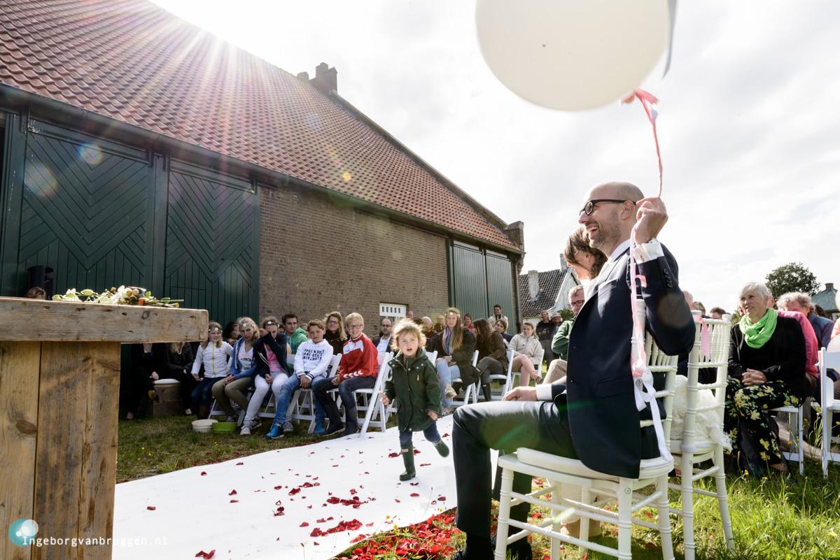 Fotografie verrassingsbruiloft Biesbosch Dodrecht