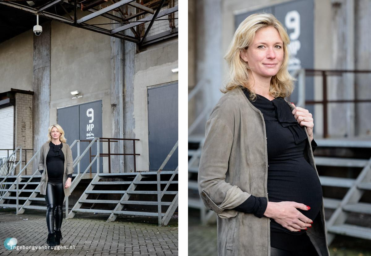 Stoere Zwangerschapsshoot