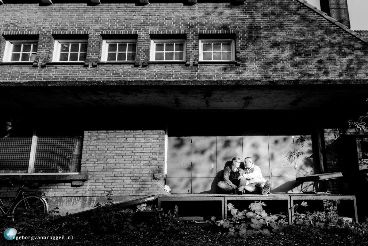 Stoere loveshoot Rotterdam