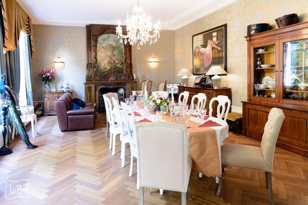 Fotografie chic diner aan huis fotografie ingeborg van bruggen - Tijdschrift chic huis ...