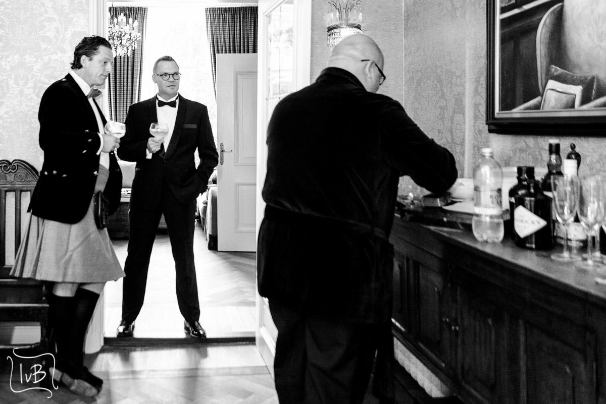 Fotograaf chic diner aan huis