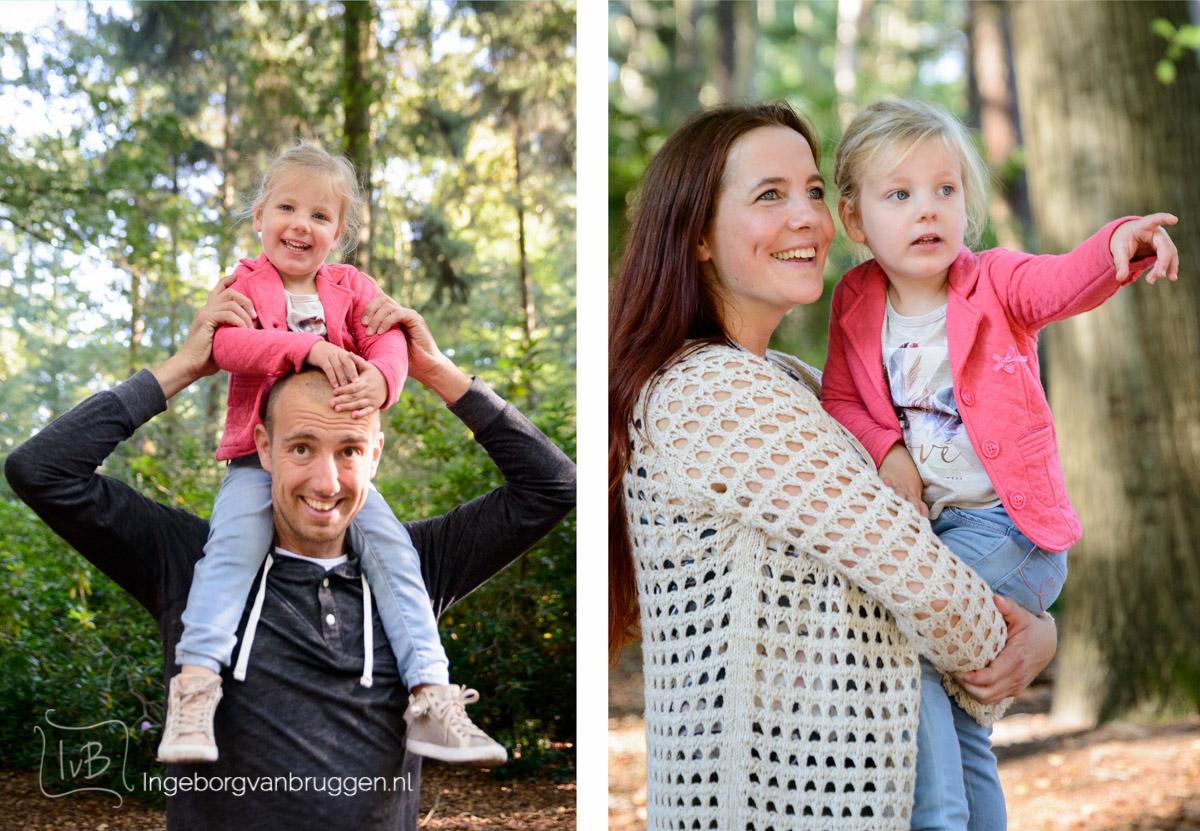 gezinsshoot bos en heide-