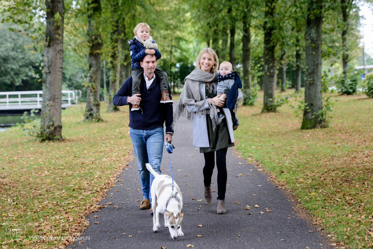 Fotoshoot met kinderen in Delft