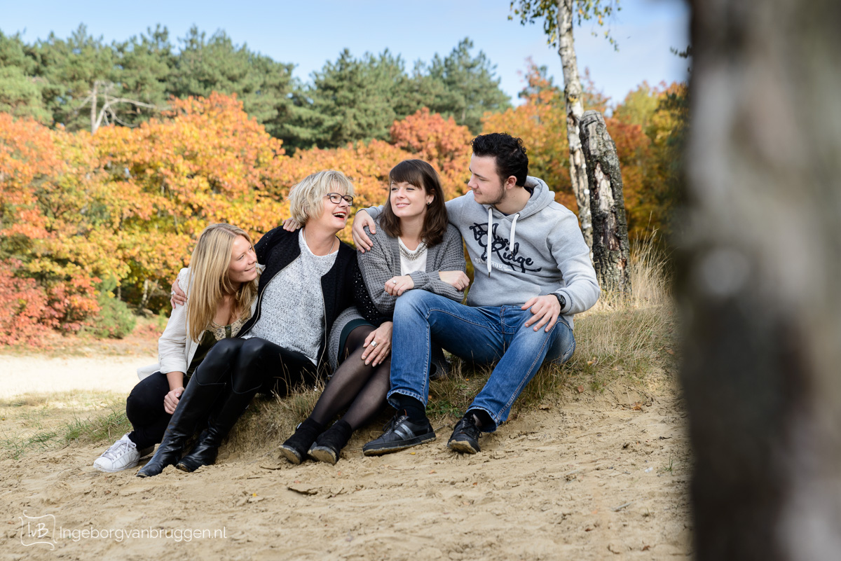 Familieshoot in de Herfst