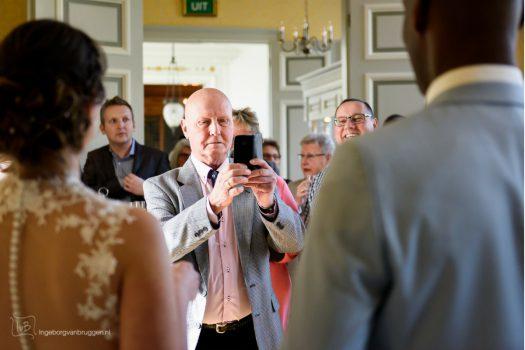 Social media etiquette Bruiloft poseren
