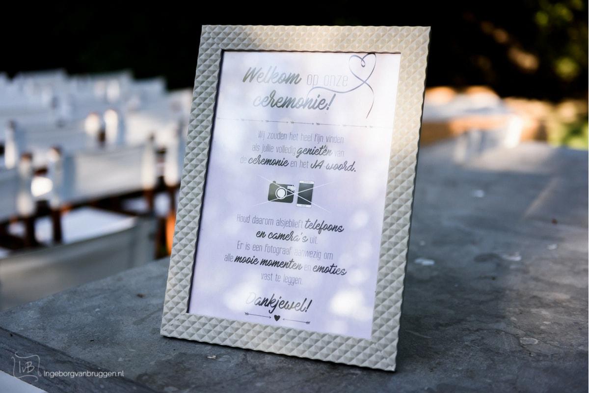 Social media op de bruiloft