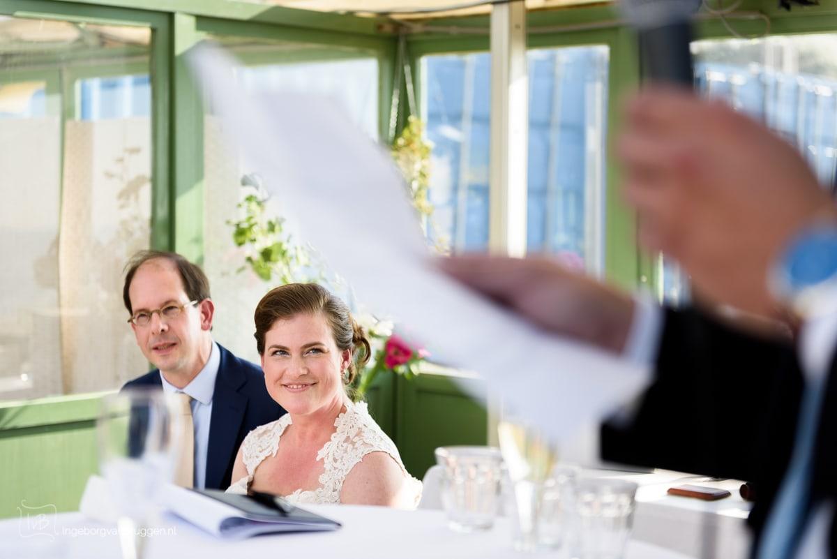 Beste moment voor speeches op bruiloft