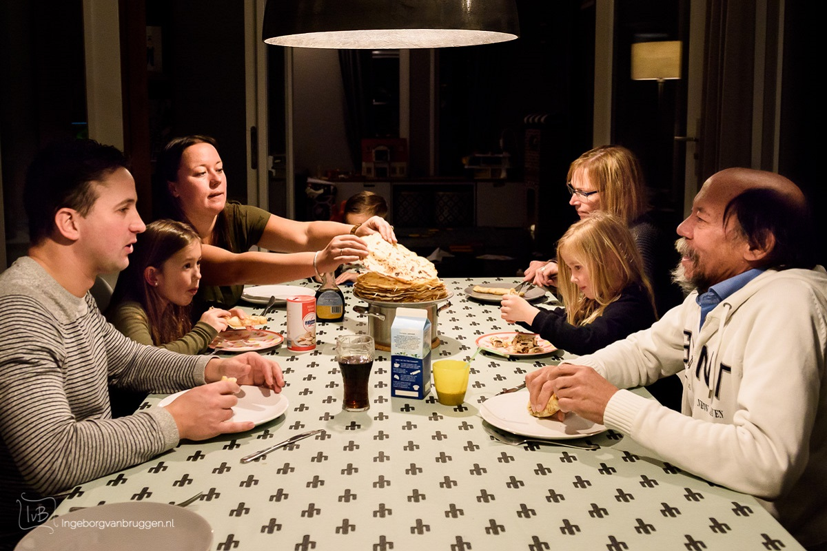 Unieke familiefotoshoot