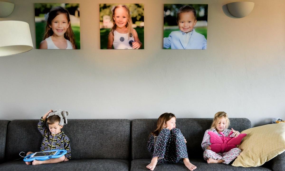 Unieke gezinsfotoshoot