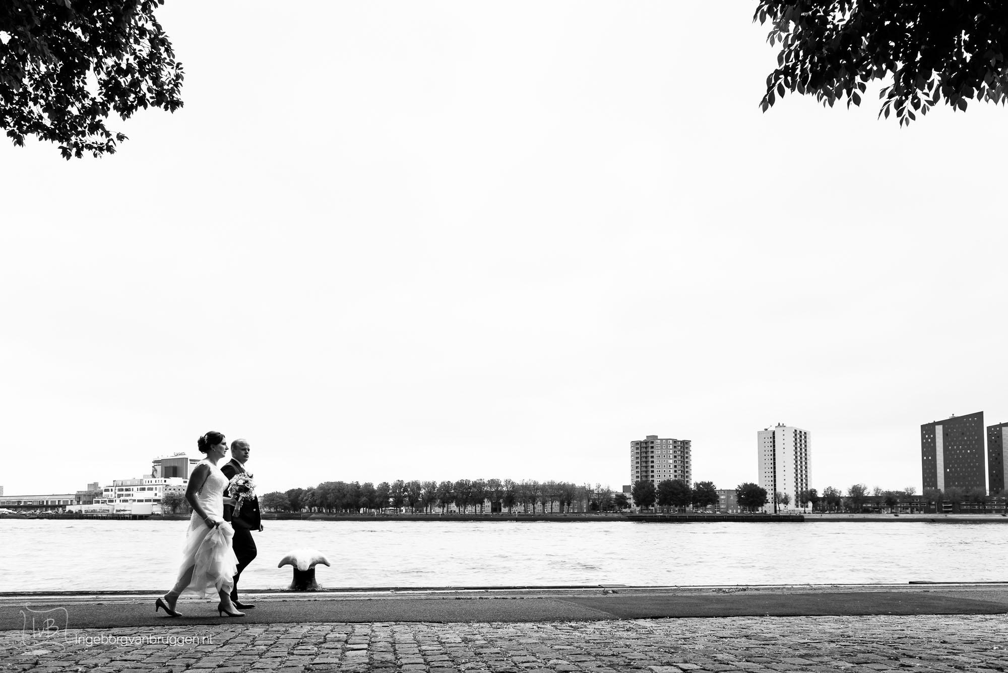 Bruidsfotografie Dudok Heerenhuys Rotterdam