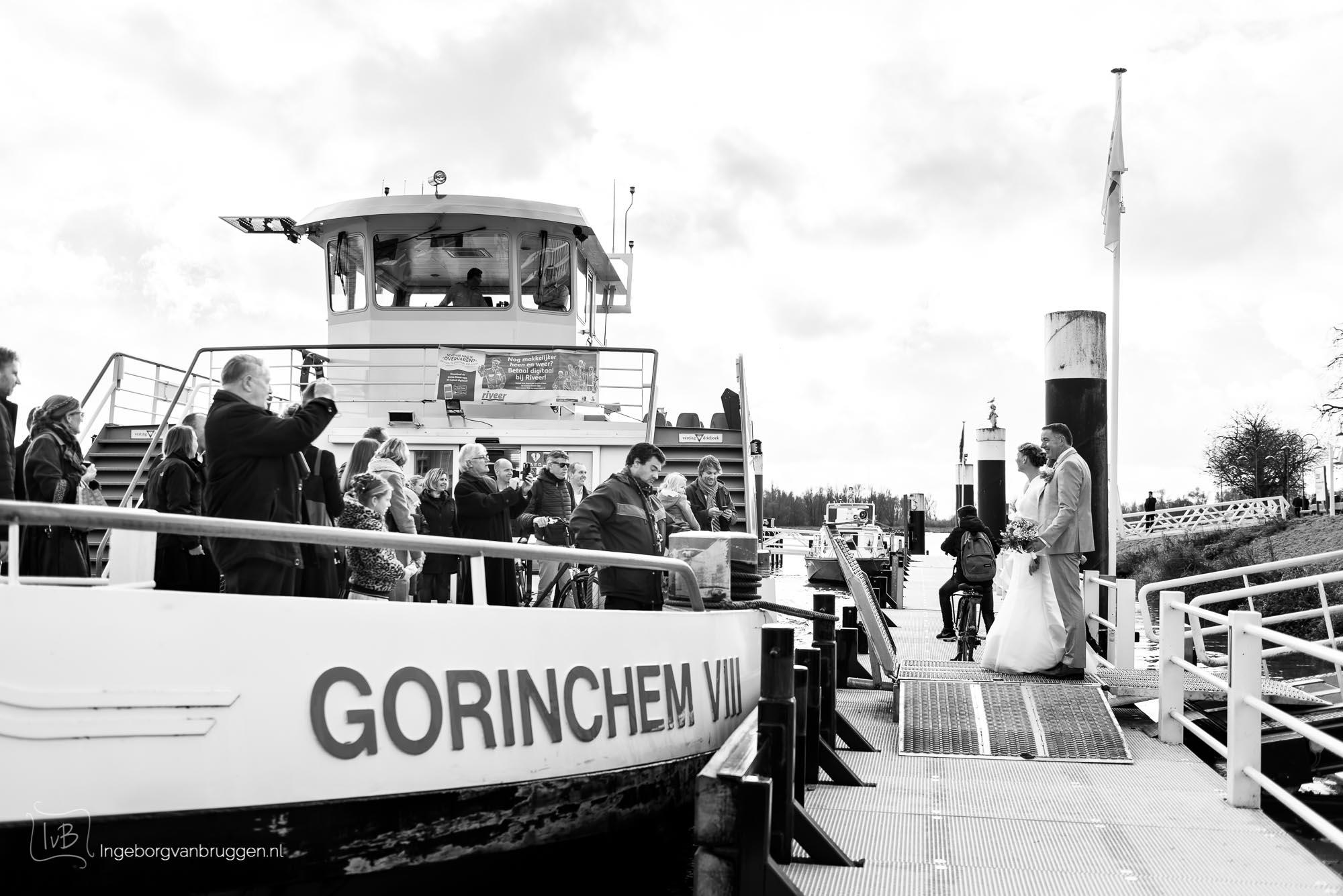 Bruidsfotografie Winterbruiloft Gorinchem