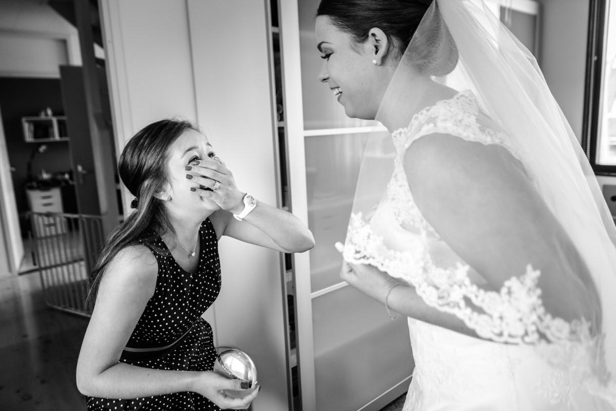 Fotoshoot van je trouwdag