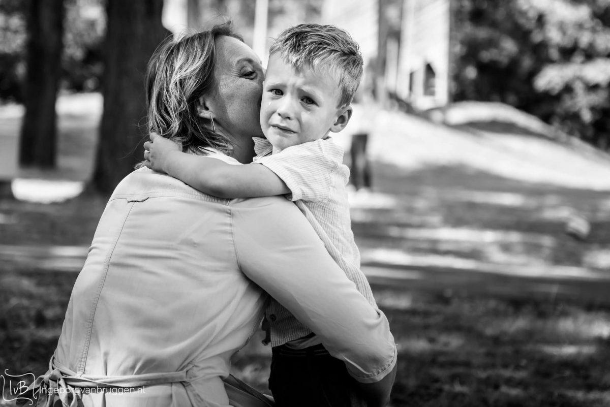 Fotoshoot voor moederdag