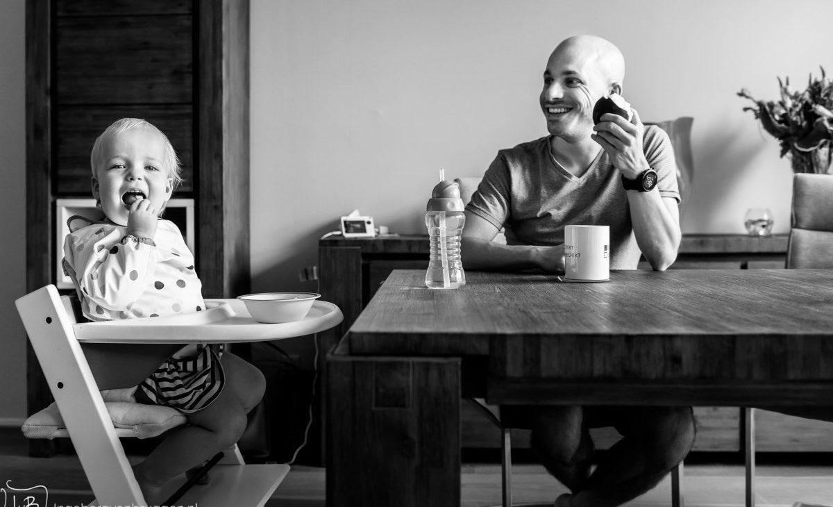 Fotoshoot voor vaderdag