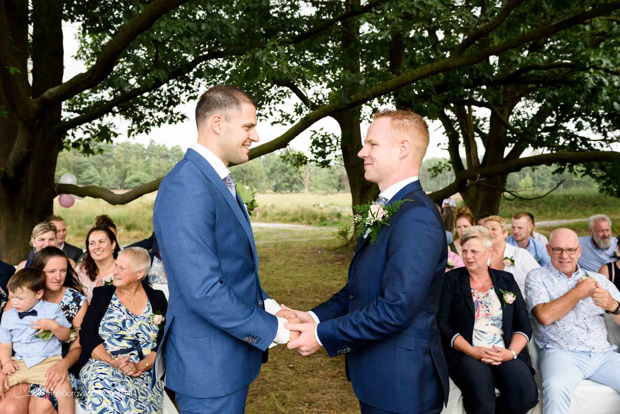 Trouwfotogtrafie Homo huwelijk Heide Amersfoort-0022