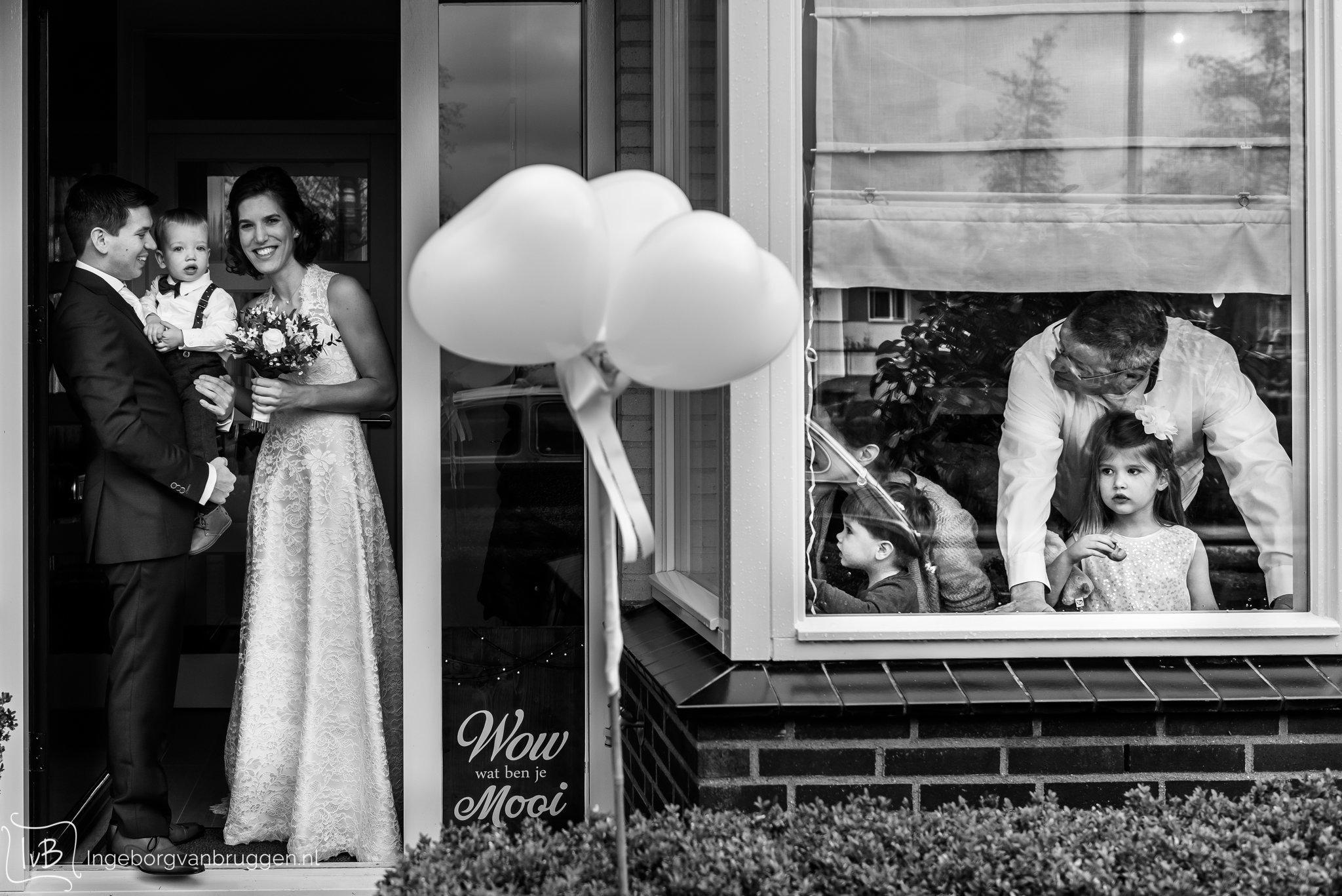 Grappigste trouwfoto's van 2018