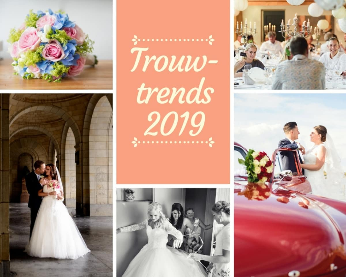 Trouwtrends 2019