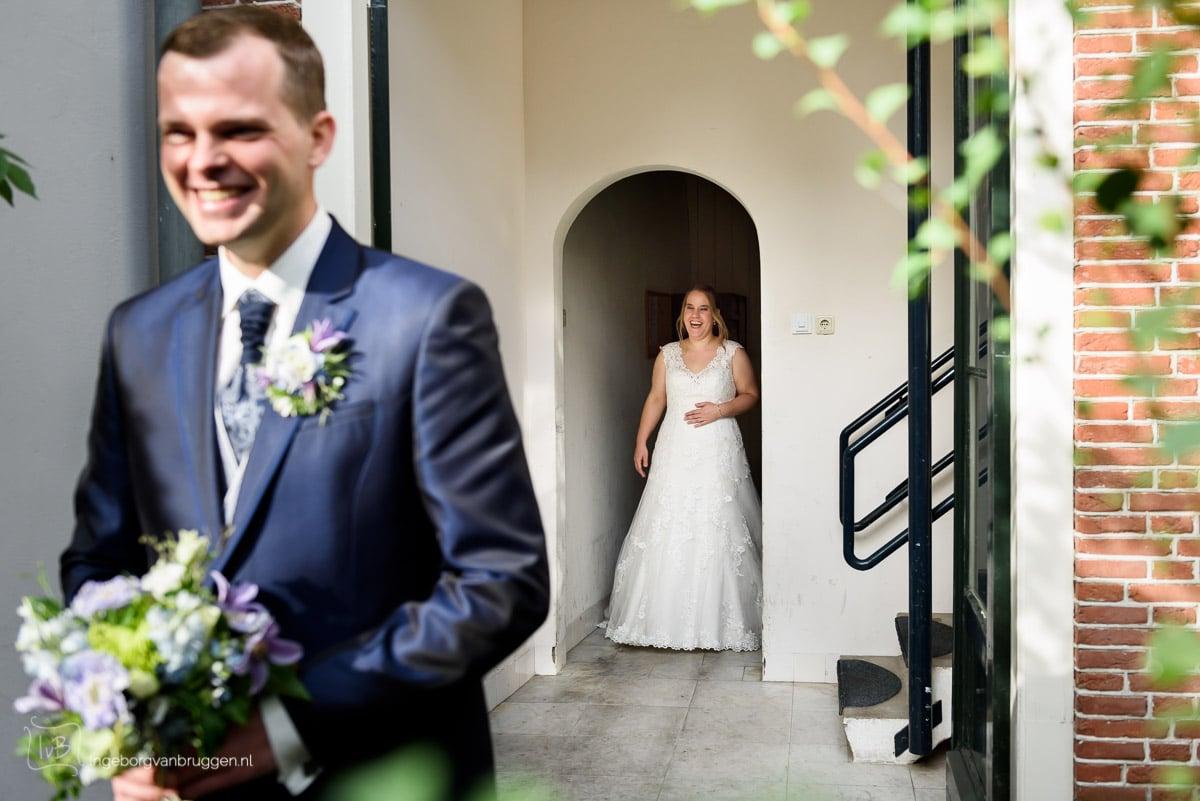 Bruidsfotografie de Poort Leiden