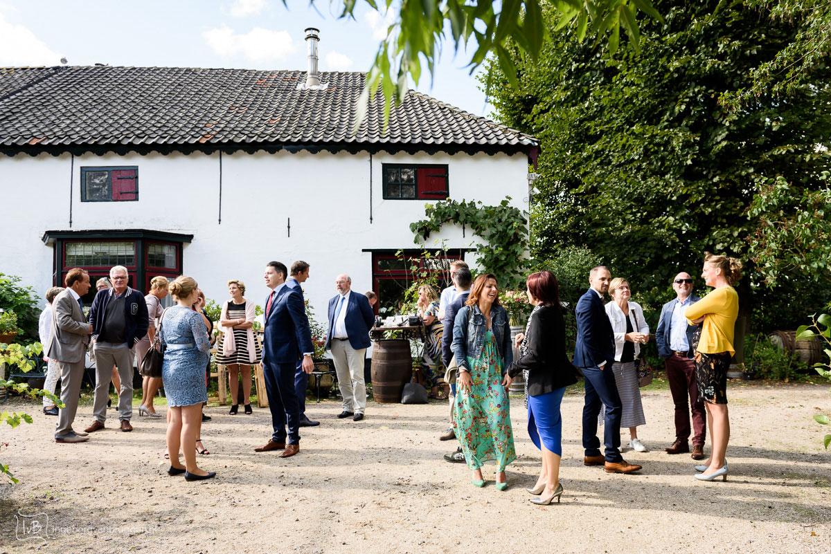 Bruidsfotografie op wijnboerderij