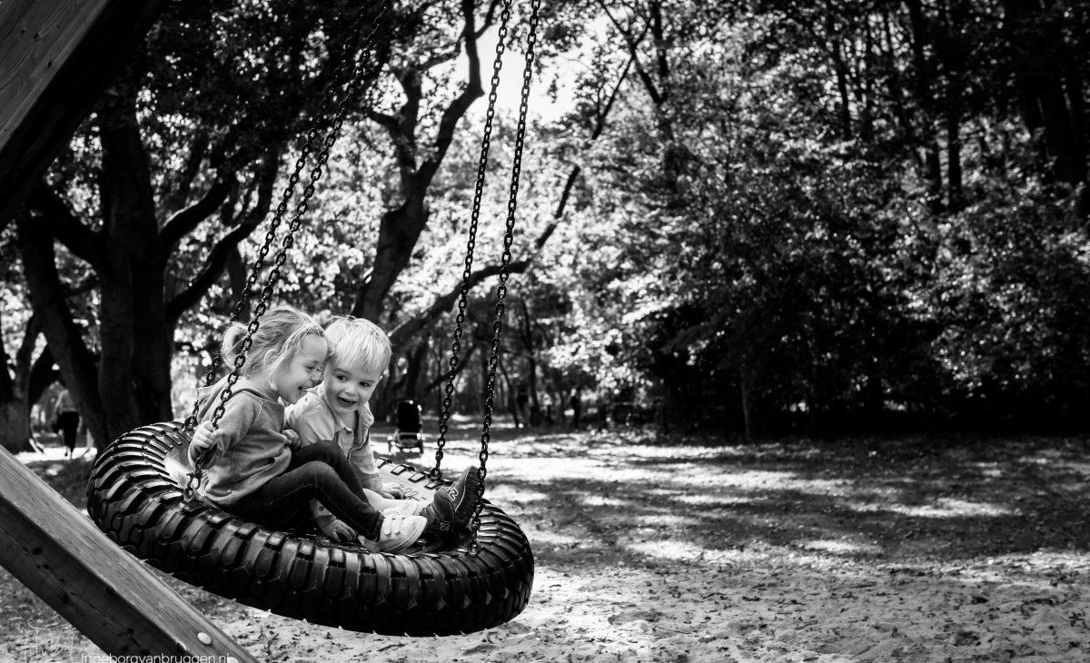 Zwart-wit fotoshoot
