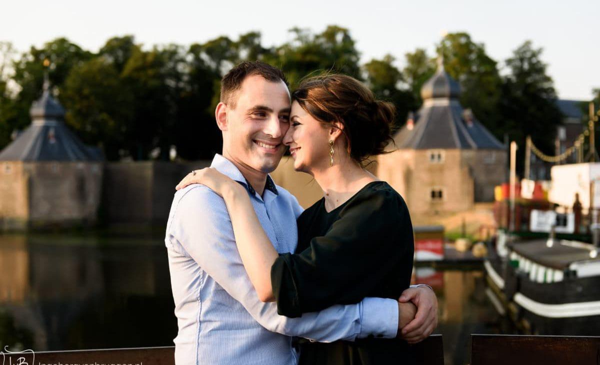 Man en vrouw fotoshoot