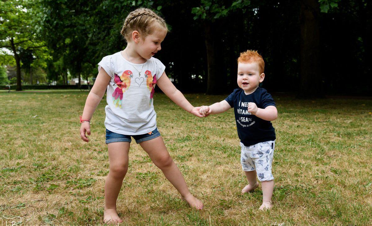 Broers en zussen fotoshoot