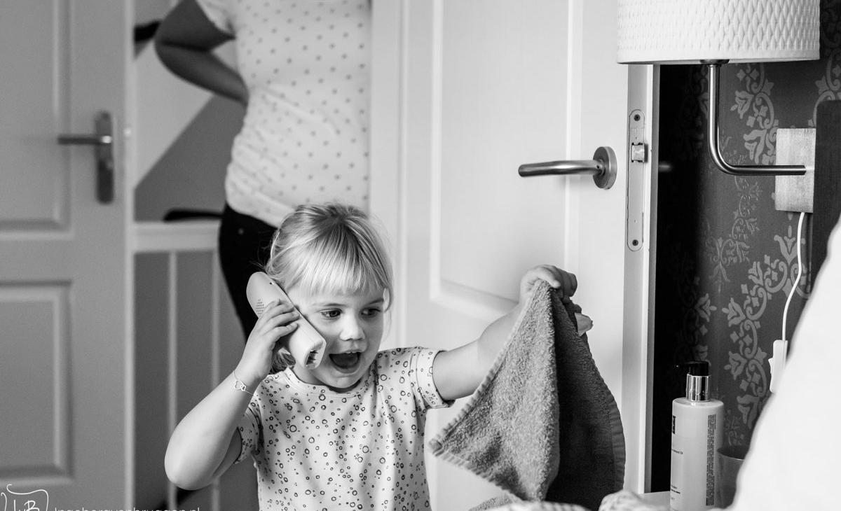 Fotoshoot-meisje