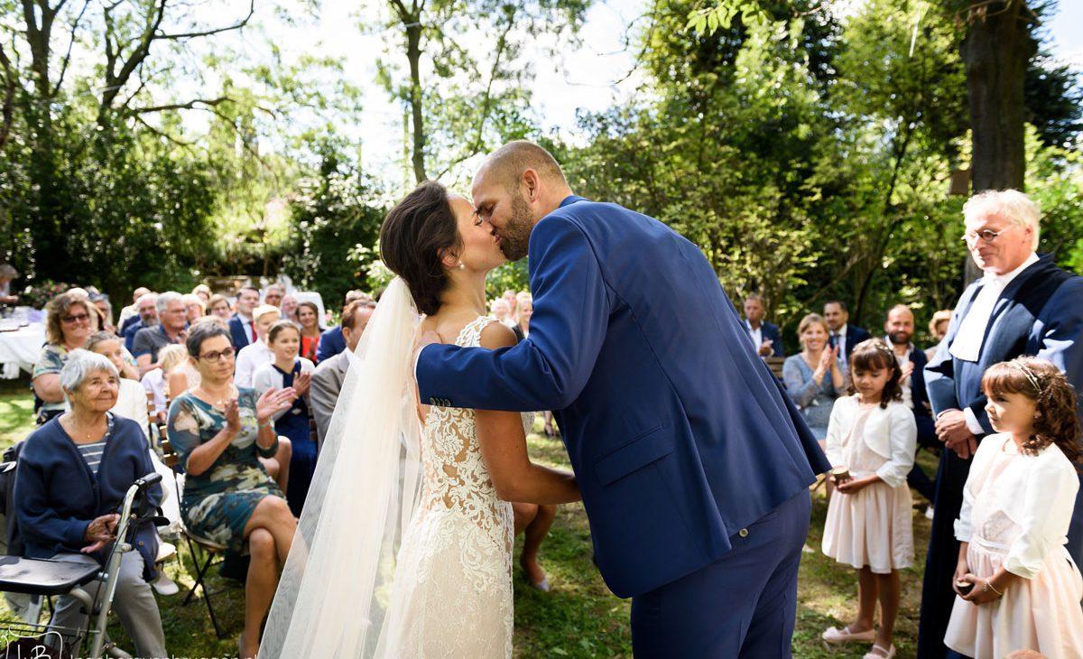 Fotoshoot trouwdag