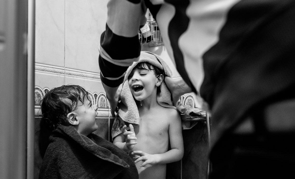 Fotoshoot van Gezin