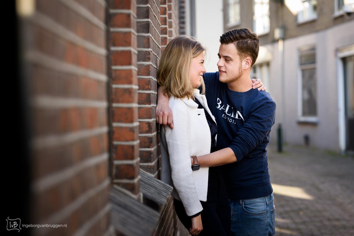 Liefdes fotoshoot
