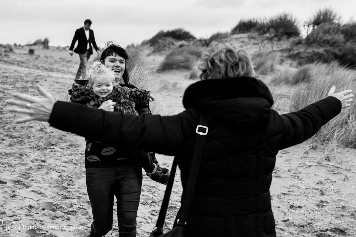 Fotoshoot in de duinen
