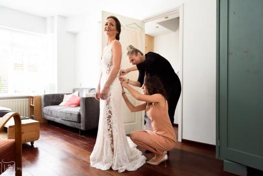 Mijn favoriete foto's van de voorbereiding van de bruid