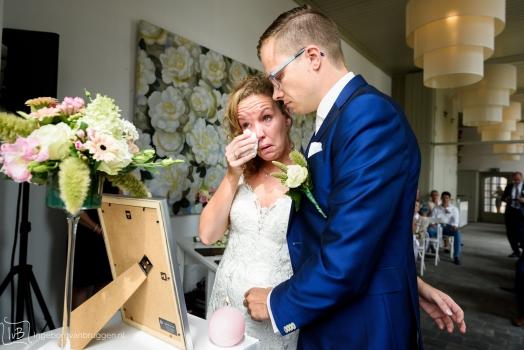 Overledene herdenken op bruiloft