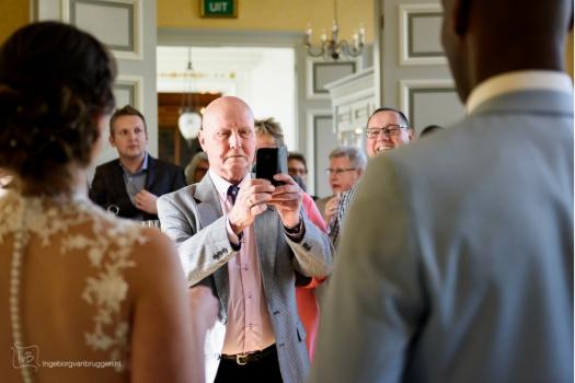 Manieren om Instagram op je bruiloft te gebruiken