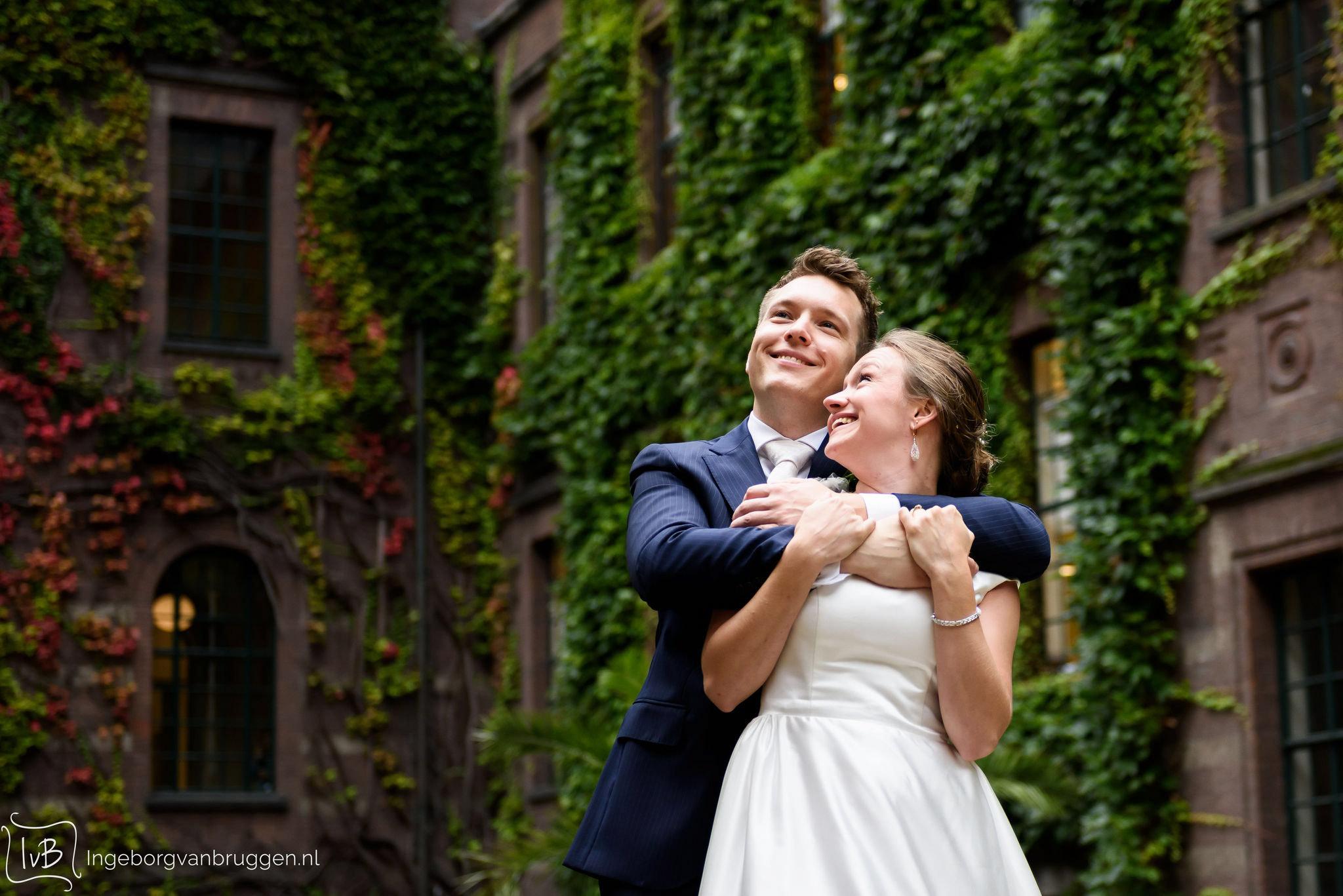 Bruidsfotografie Stadhuis Rotterdam